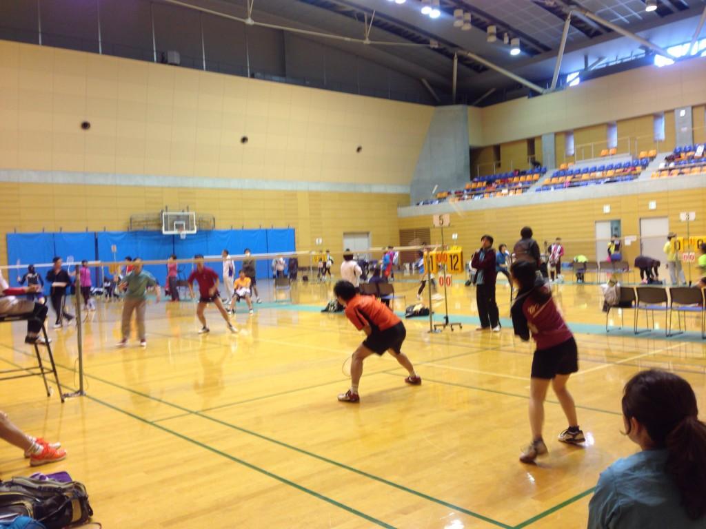 さいたま市シニアオープンバドミントン大会2015 (団体戦) (1)