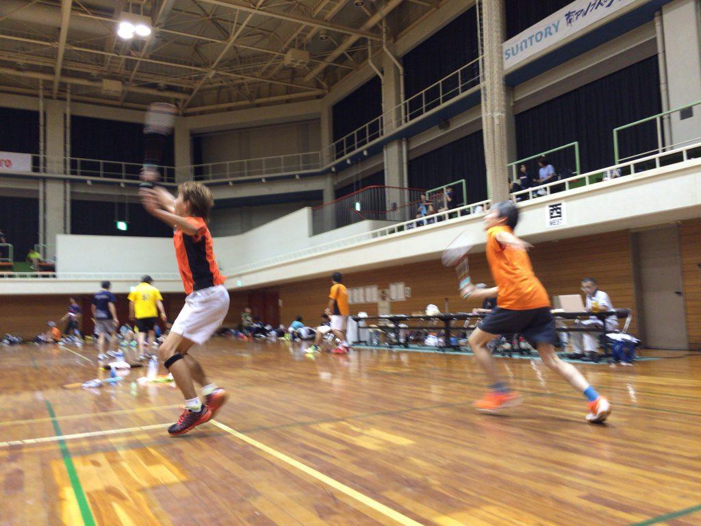 平成28年度 戸田市民体育祭バドミントン大会へ2ペアが参戦!