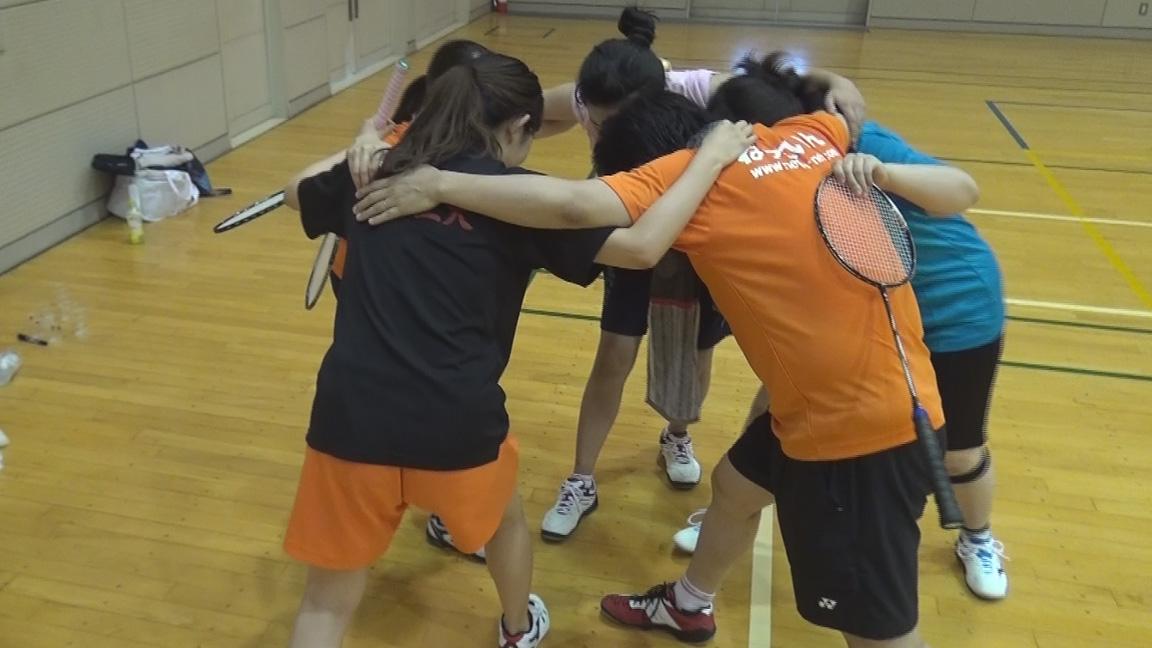 3年ぶりのねっといん バドミントン春合宿2015-(1)