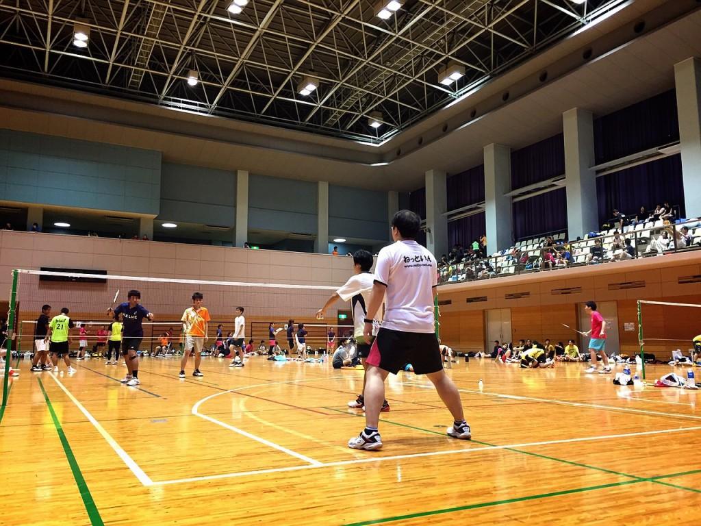 取手市オープンバドミントン団体戦2015-(1) 男子チーム編