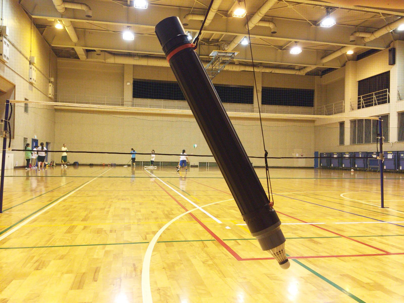 N練バドミントンで新たな練習アイテムを投入~。