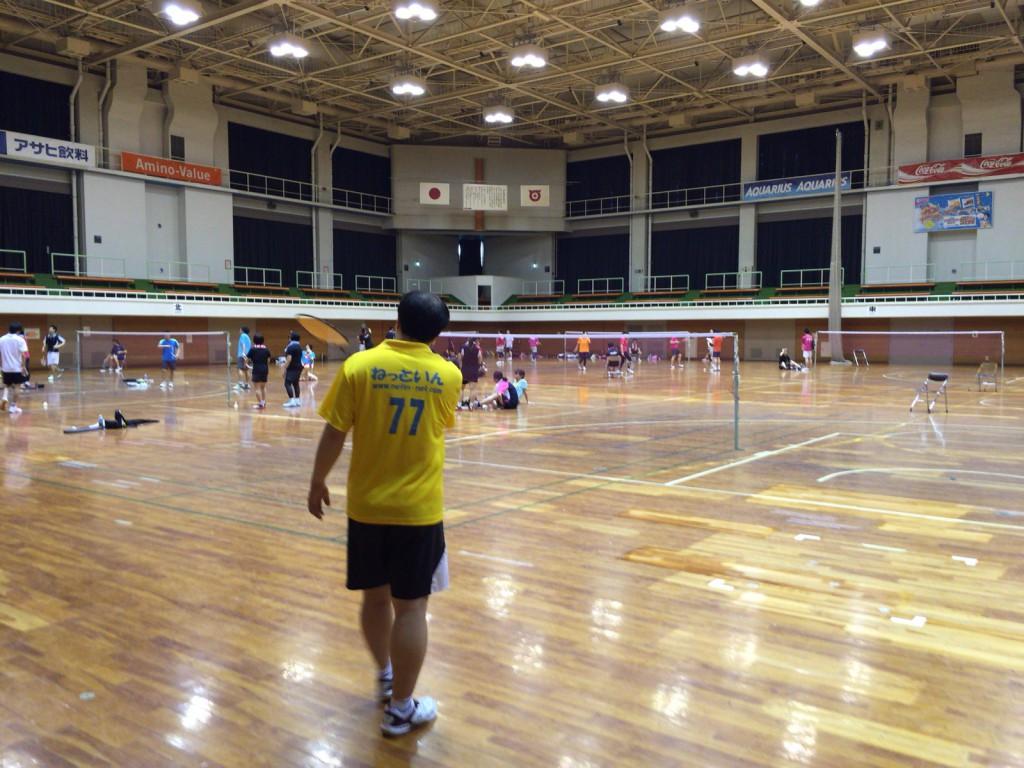 平成28年度 戸田市民体育祭バドミントン大会に参加してきました。